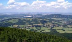 Pohled naBordovice zrozhledny naVelkém Javorníku 2013,Foto L.Hegar